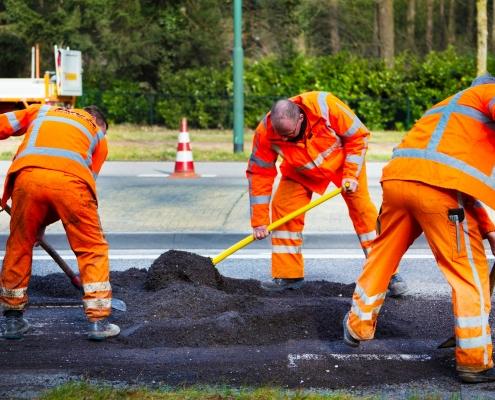 asfalt herstel