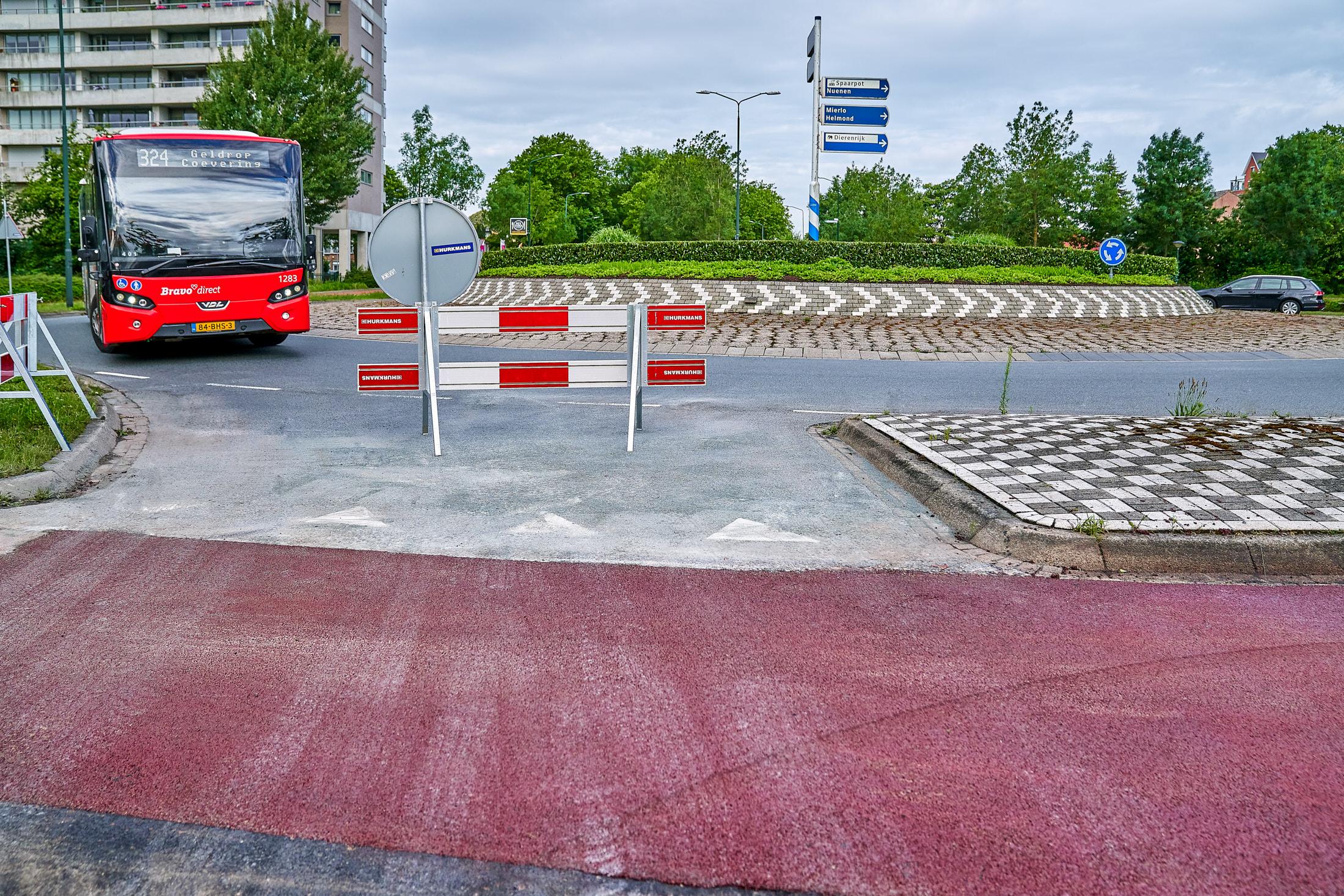 afzetting asfaltwerk