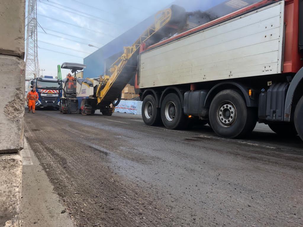zware asfaltbelasting